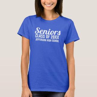 Den höga studenten klassificerar av 2018 skolar t-shirt