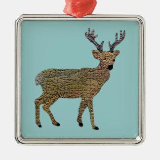 Den högvärdiga prydnaden för guld- ren jul dekorationer