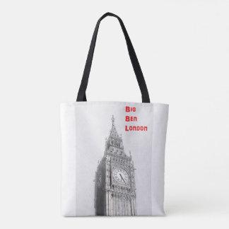 Den Iconic London totot hänger lös Tygkasse