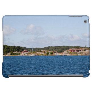 Den idylliska kusten landskap