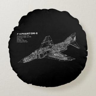 Den inbillade kämpejeten (Supersonic flygplan) Rund Kudde