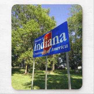 Den Indiana välkomnandet undertecknar Musmatta