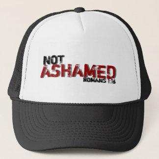 Den inte skamsna Romans1:16 inspirerade Truckerkeps