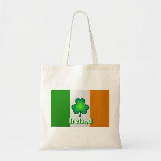 Den Irland flagga hänger lös Budget Tygkasse