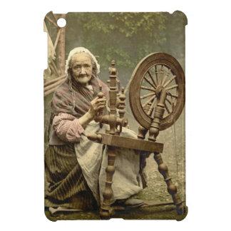 Den irländska kvinnan och snurret rullar 1890 iPad mini fodral
