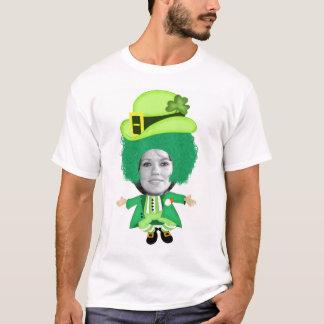Den irländska st patricks daypimpeln, foto tshirts