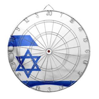 Den Israel flagga räcker patriotiska Darttavla