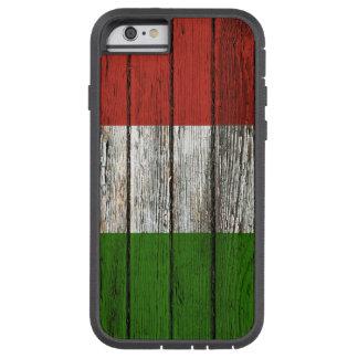 Den italienska flagga med grovt Wood korn Tough Xtreme iPhone 6 Fodral