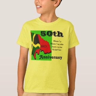 Den Jamaica 50th årsdagen lurar t-skjortor T-shirt