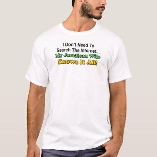 Den jamaikanska frun vet allt det t shirts