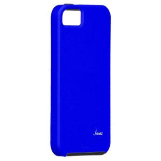 Den James iphonen 5 blått täcker iPhone 5 Skydd
