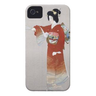 Den Japan vintagejapanen reser affischen Case-Mate iPhone 4 Case