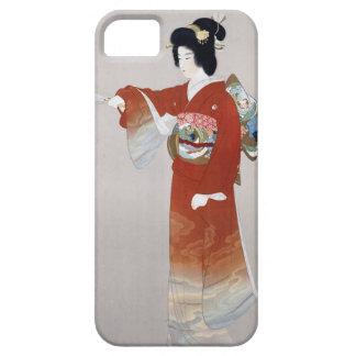 Den Japan vintagejapanen reser affischen iPhone 5 Fodral
