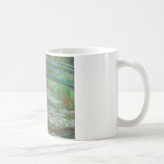 Den japanska spången vid Claude Monet Kaffemugg