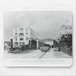 Den järnväg stationen av tåg Berlin-Potsdam Musmatta