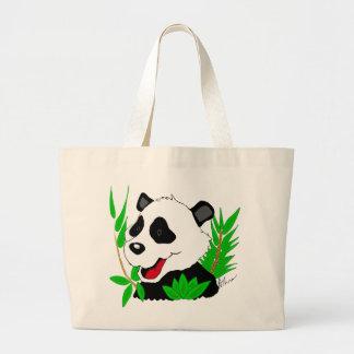 Den jätte- Pandabjörnen hänger lös Jumbo Tygkasse
