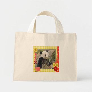 Den jätte- Pandabjörnen hänger lös Mini Tygkasse