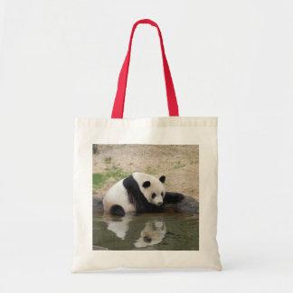 Den jätte- Pandabjörnen hänger lös Tygkasse
