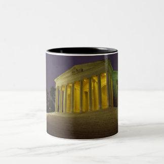 Den Jefferson minnesmärken Två-Tonad Mugg