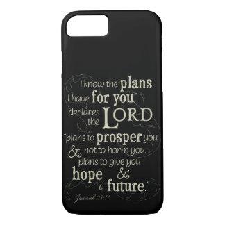 Den Jeremiah 29:11 vet jag att planerar mig har