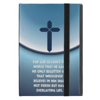 Den John 3:16 för gud älskade så världen iPad Mini Cover