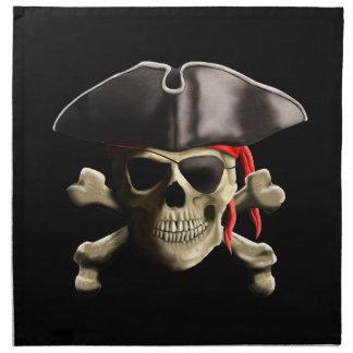 Den Jolly Roger piratskallen Näsduk
