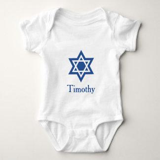 Den judiska davidsstjärnan personifierar tee shirts