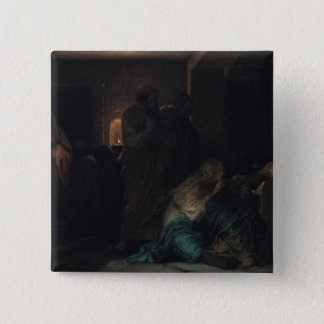 Den jungfruliga svimningen, 1856 standard kanpp fyrkantig 5.1 cm