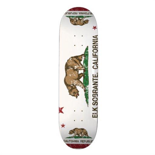 Den Kalifornien republiken sjunker älgen Sobrante Skateboard