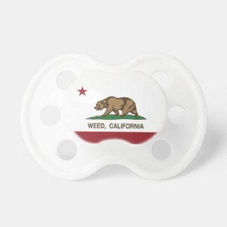 Den Kalifornien republiken sjunker ogräset Napp