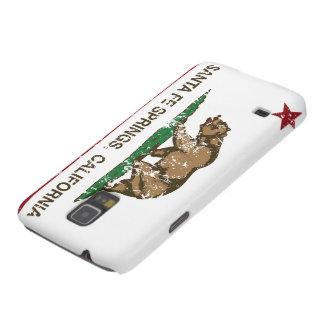 Den Kalifornien republiken sjunker Santa Fe Galaxy S5 Fodral
