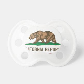 Den Kalifornien republiken uthärdar statlig flagga Napp