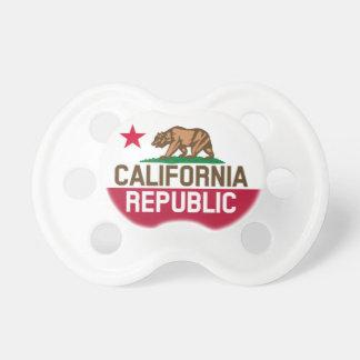 Den KALIFORNIEN REPUBLIKstatlig flagga passade Napp