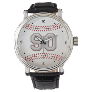Den kalla basebollspelaren numrerar 90 - syr Look