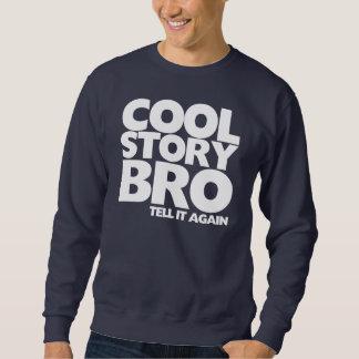Den kalla berättelsebroen berättar det igen långärmad tröja
