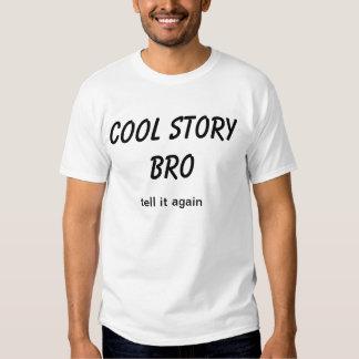 den kalla berättelsebroen berättar det igen t-shirt