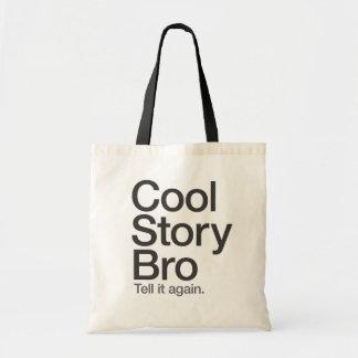 Den kalla berättelsen Bro berättar det hänga lös a Tygkassar