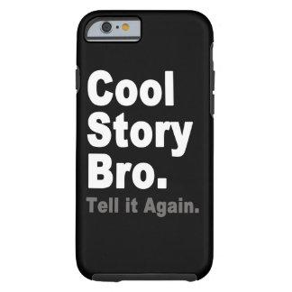 Den kalla berättelsen Bro berättar det igen roligt