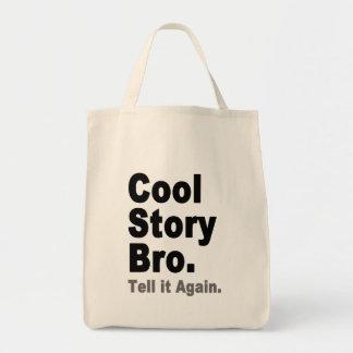 Den kalla berättelsen Bro berättar det igen roligt Tygkassar
