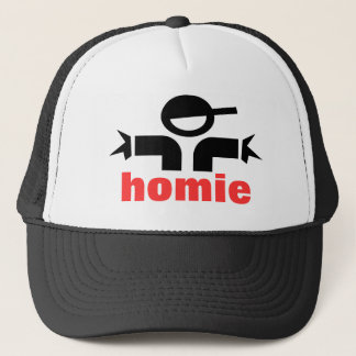 Den kalla hatten - hip hophomie - rappa truckerkeps
