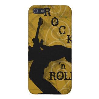 Den kalla iPhonen för Grunge för musikgitarrsten t iPhone 5 Fodraler