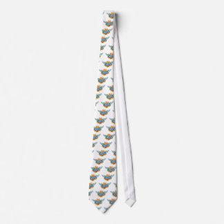 Den kalla klassikertatueringtecknaden förundra sig slips