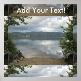 Den kalla Newfound sjön beskådar Poster
