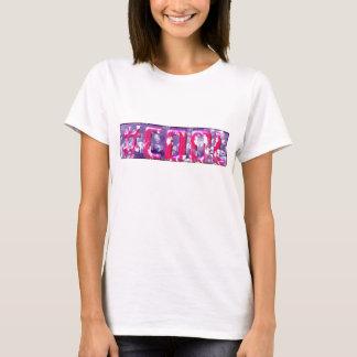 """Den kalla T-tröja för Hashtag """"karneval"""" damer Tröja"""