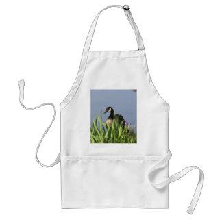 Den Kanada gåsen Irises det djura konstförklädet Förkläde