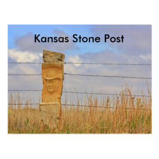 Den Kansas stenen postar VYKORTET Vykort