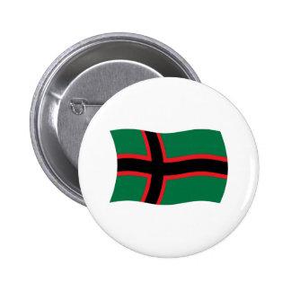Den Karelians flagga knäppas Knapp