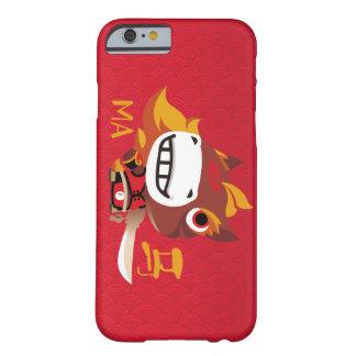 Den kinesiska stildesignen för året av hästen barely there iPhone 6 skal