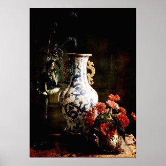 Den kinesiska vasen poster