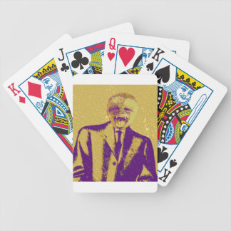 Den konstiga affärsmanen spelkort